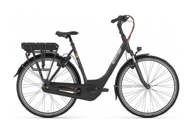Gazelle Paris C7+ HMB Black Matt (300WH ACCU)