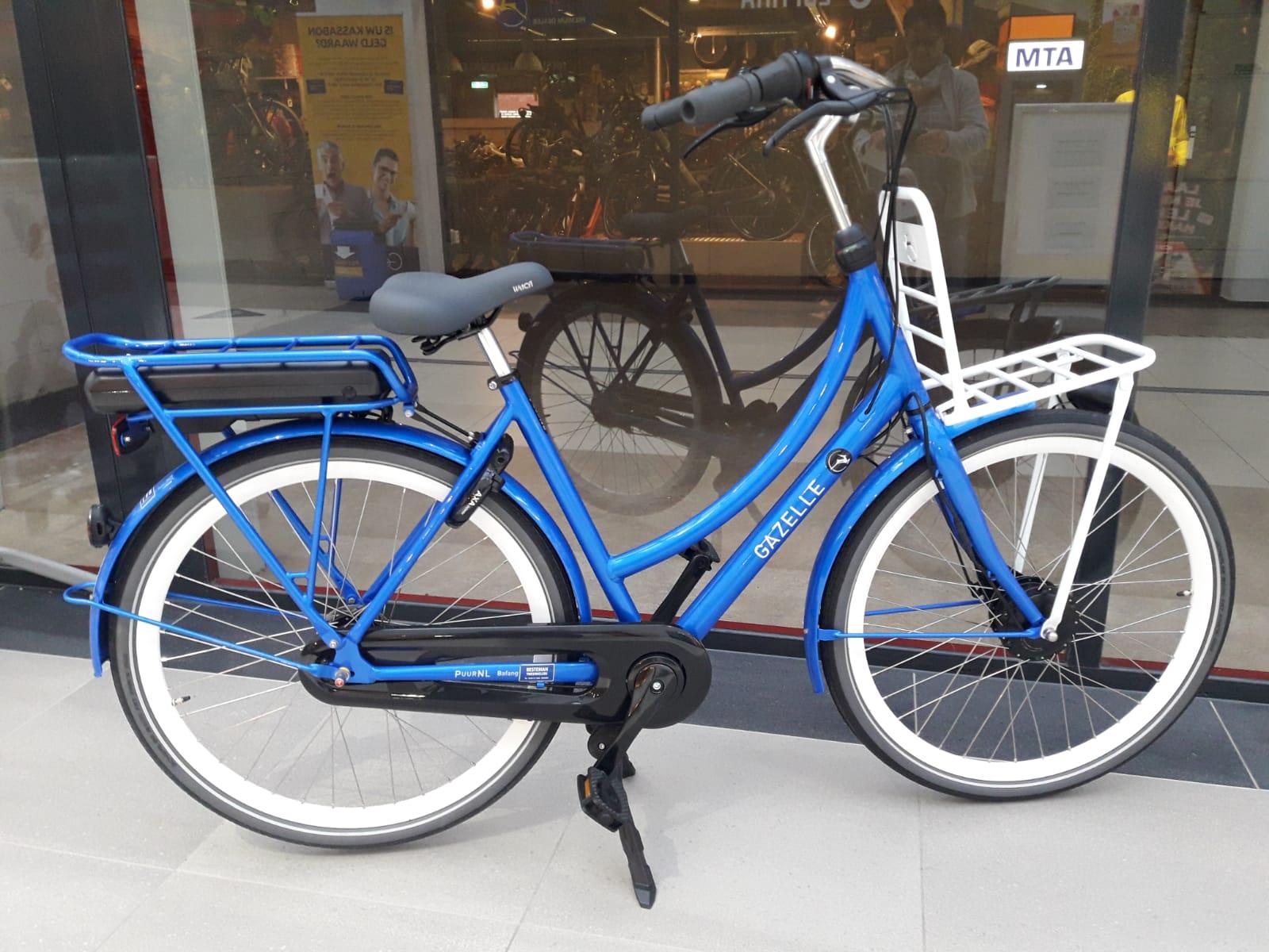 Gazelle Puurnl Hfb Tropical Blue 400wh Accu Besteman Tweewielers